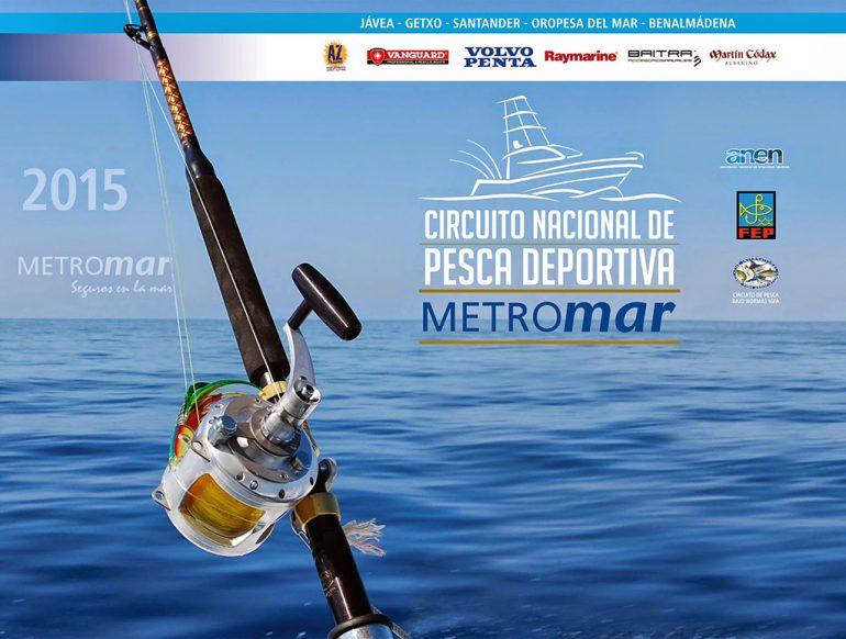 Cartel Circuito Pesca METROmar
