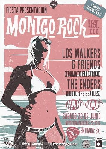 Cartel presentación Montgo Rock Festival