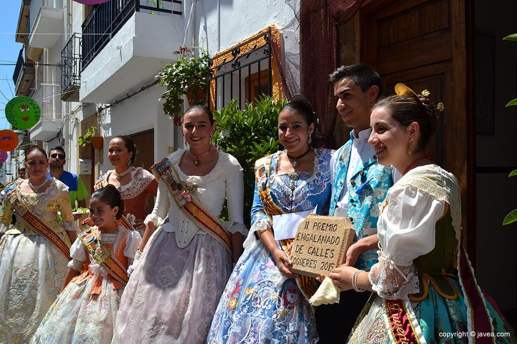 Comisión de la calle San Cristobal con Lucía Catalá