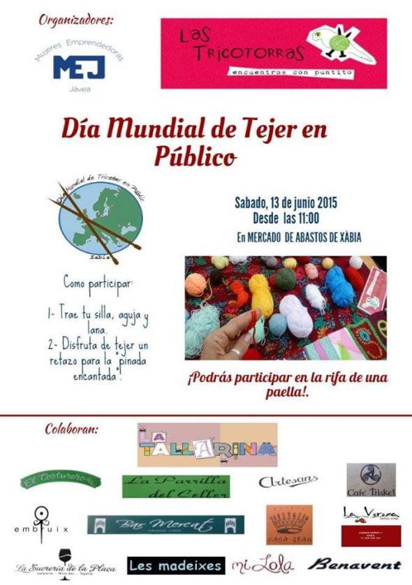 Día Mundial de Tejer en Público con las Tricotorras