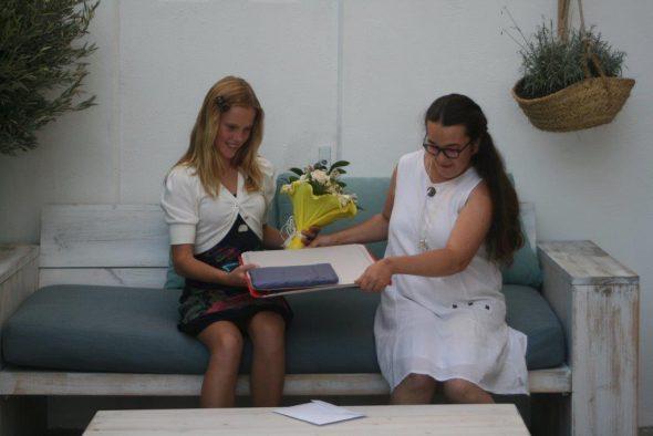 Donación de la familia Jacobsen al Raquel Payà