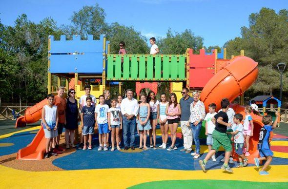 El Consell dels Xiquets en el Parque de Pinosol