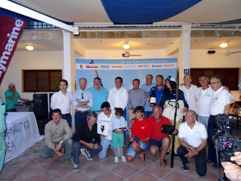 Equipo ganador del Concurso de pesca de Jávea