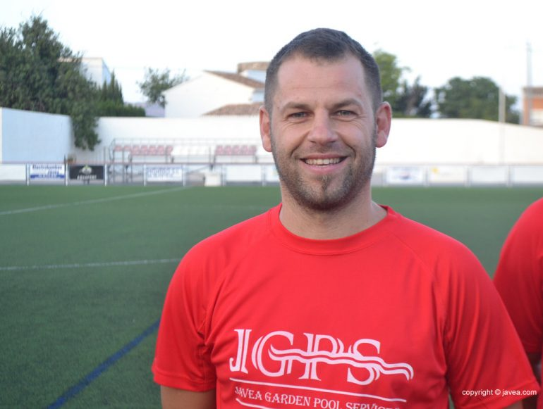 Jose Luis Bisquert técnico del CD. Jávea