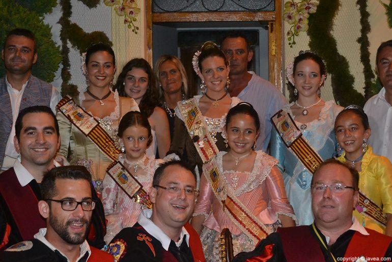 La tuna de Jávea en la serenata a la reina de Fogueres 2014