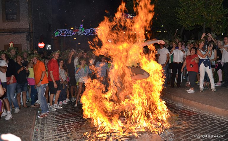 Nit del Foc en Xàbia