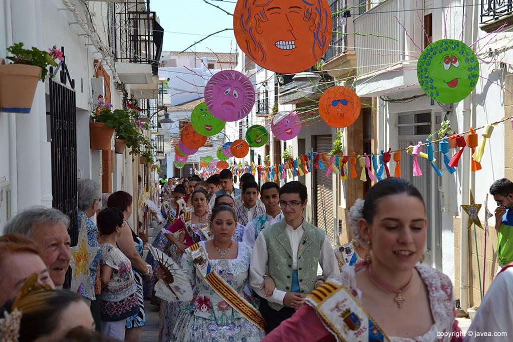 Pasacalle en la calle San Cristóbal