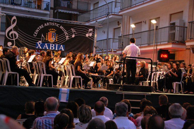 concierto del Centre Artistic Musical de Xàbia