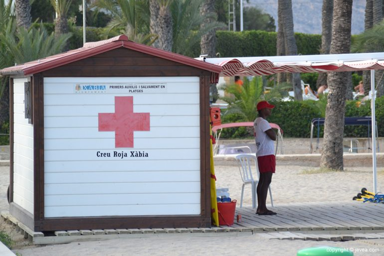 Cruz Roja Playa Arenal