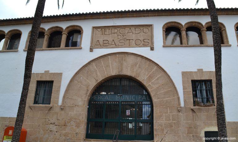 Fachada del Mercado Municipal de Jávea