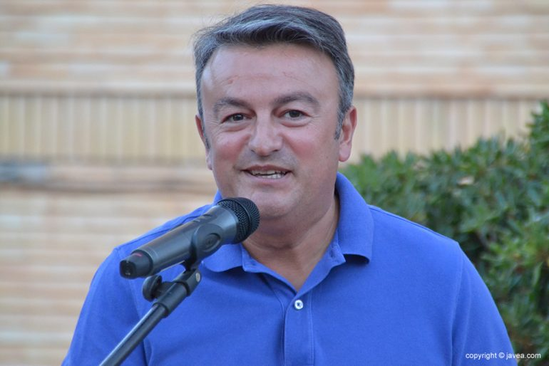 José Chulvi durante su discurso