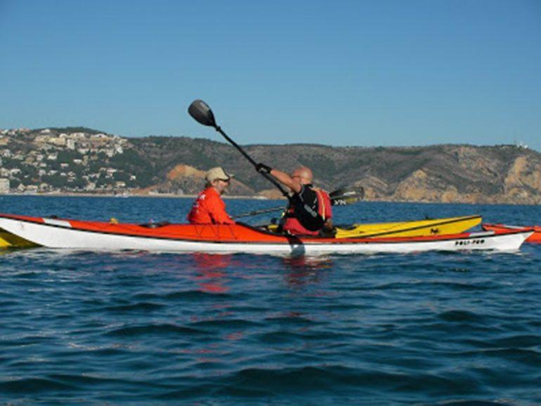 Kayak de mar en aguas de Jávea