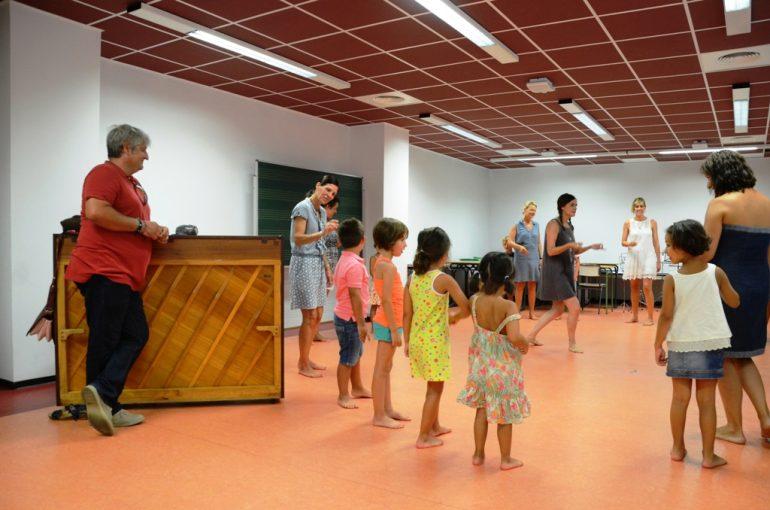 Quico Moragues asistió al taller para niños