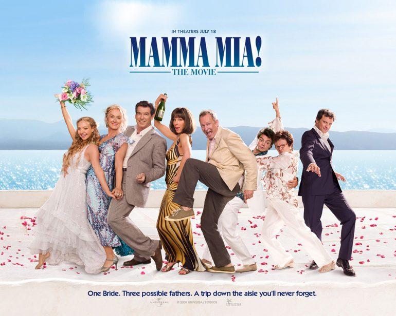 cartel película Mamma Mia