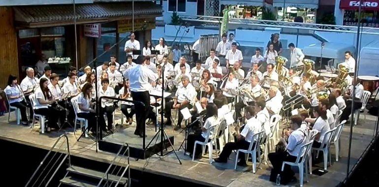concierto de moros y cristianos de Jávea