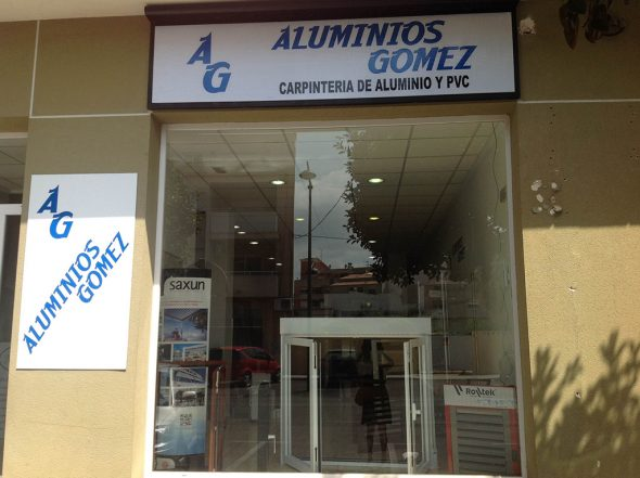 Aluminios Gómez nueva exposición