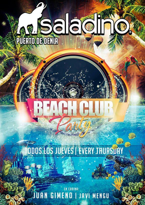Beach Club Party Saladino