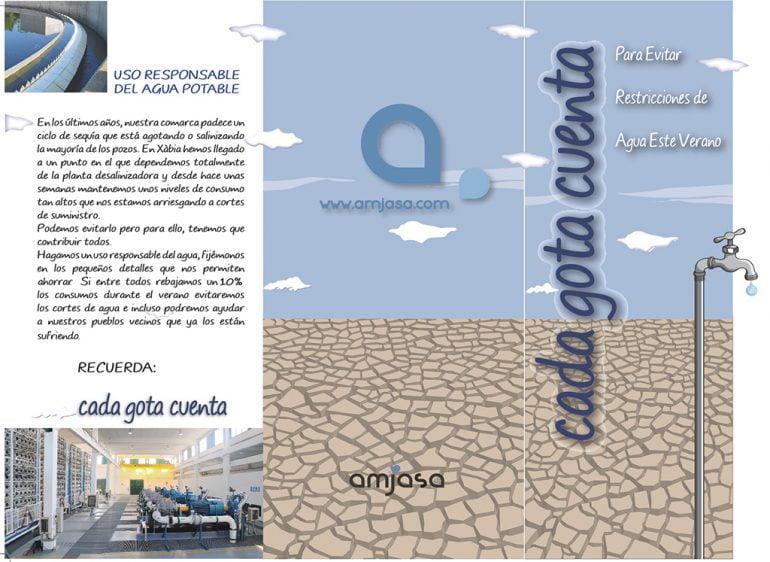 Campaña Amjasa ahorro agua