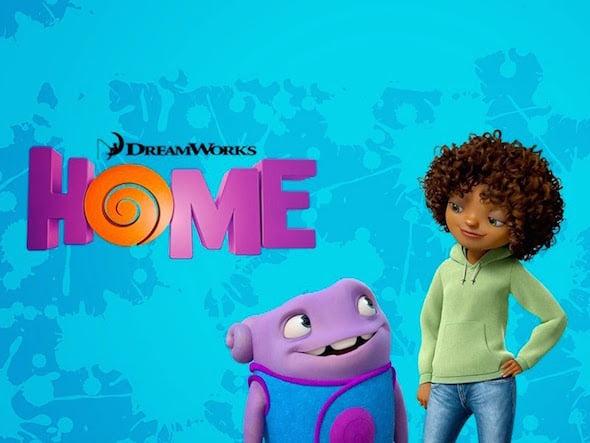 Cartel de la película Home, hogar  dulce hogar