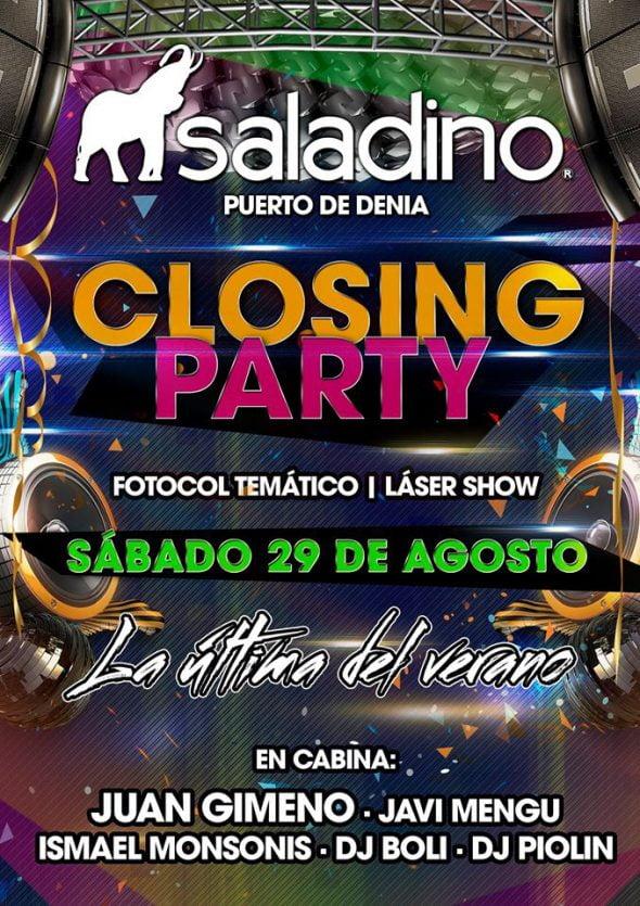 Closing Party Saladino