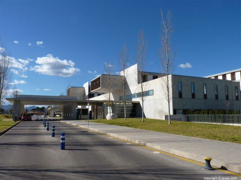 Hospital Comarcal Marina Salud en Dénia