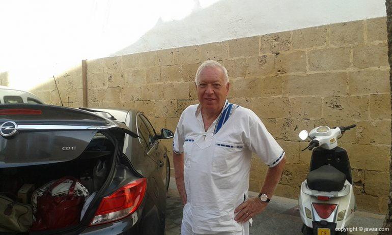 José Manuel García Margallo en Xàbia