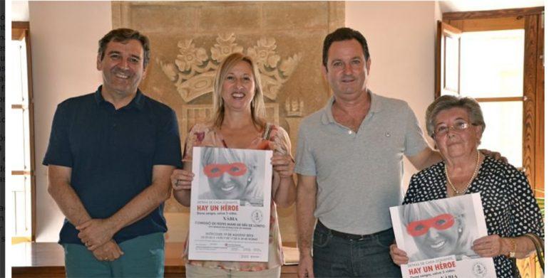 Juan josé García junto a los ediles Pepa Gisbert y Antonio Miragall