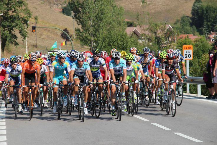Peloton de la Vuelta Ciclista a España