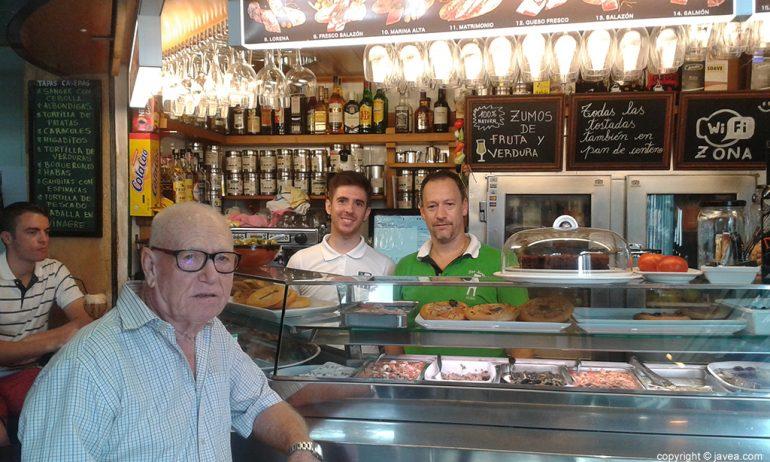 Pepe Torres en el Bar Mercat