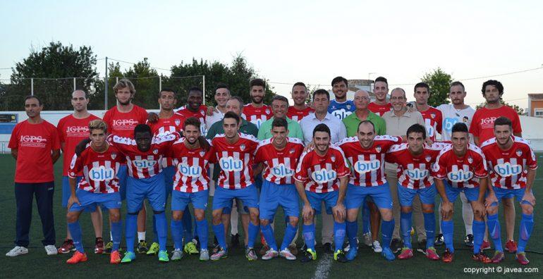 Plantilla del Jávea temporada 2015-16
