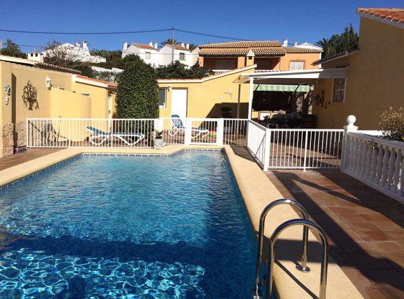 Valla para piscina Aluvent