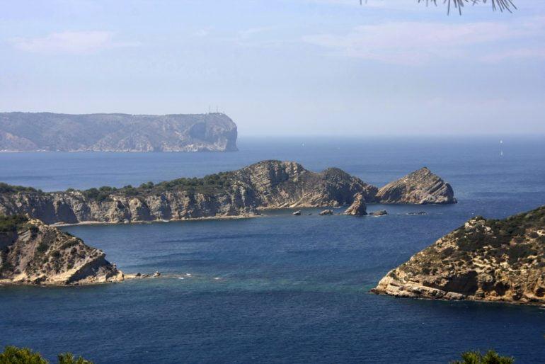 Vista del Cap Prim en Xàbia