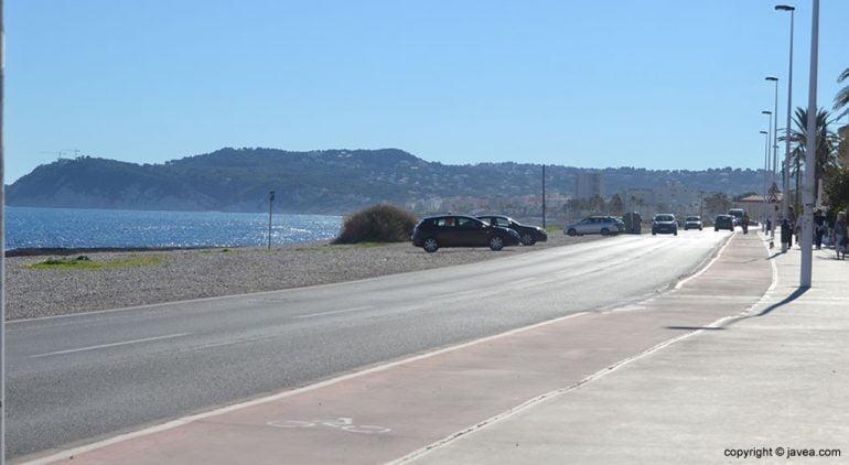Avenida del Mediterráneo en Xàbia