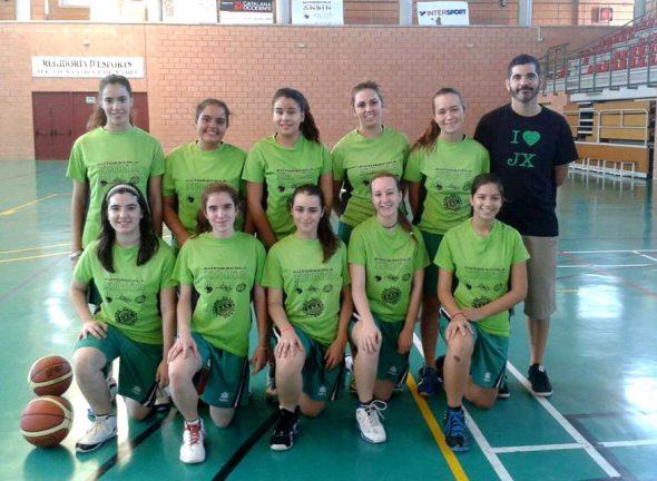 Equipo Junior Femenino CB Joventut Xàbia