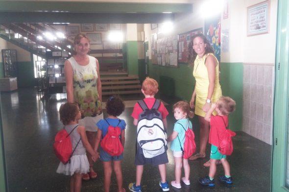 Escola Matinera en el colegio Vicente Tena
