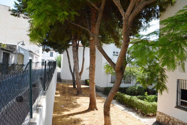 Patio del colegio Graüll Xábia