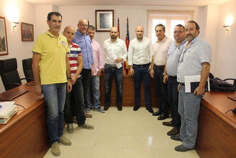 Reunión Josep Femenía y Carlos Llinares