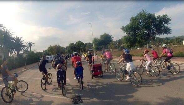 ciclismo saída em Xàbia