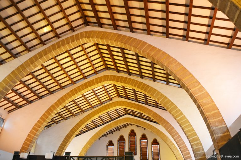 Techo del Mecat Municipal de Xàbia