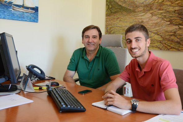 Toni Miragall y Ximo Segarra