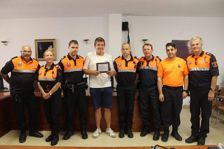 Voluntarios de Protección Civil