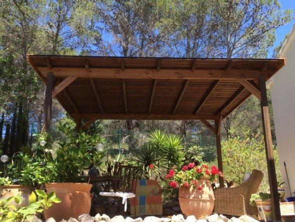 Bricomaderwood, pérgolas de madera para tu jardín o terraza