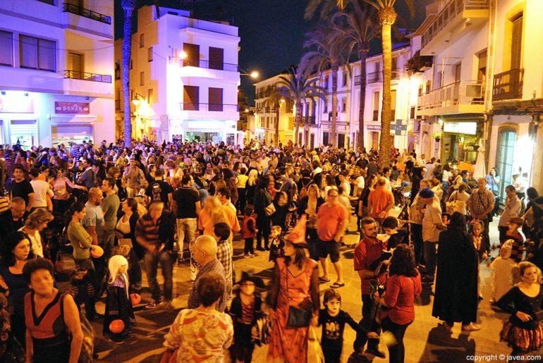Celebración de la fiesta de Halloween en Xàbia