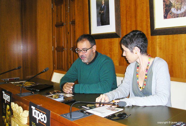 Presentación de la IX Jornada del Tapeo en Xàbia