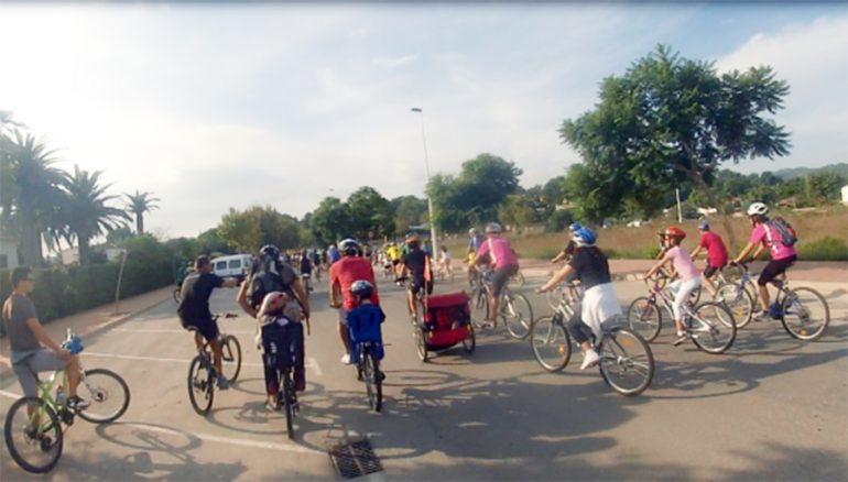 Día de la bicicleta en Jávea