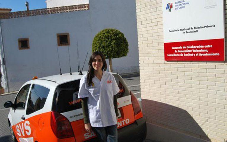 Enfermera del Servicio a Domicilio