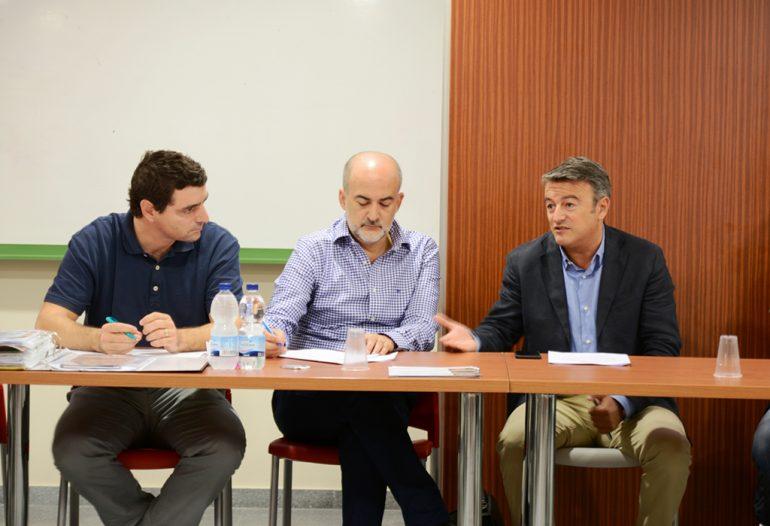 Javier Scotto junto a José Chulvi
