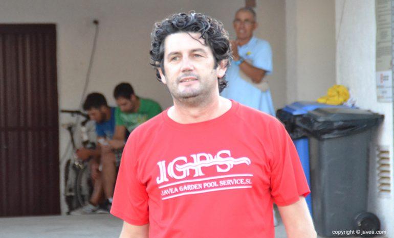 Jesús Moratal entrenador del CD Jávea