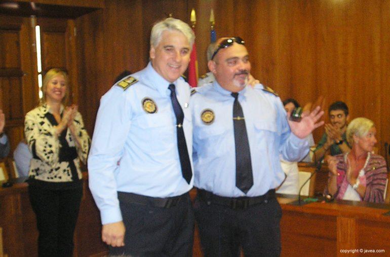 El agente José Enrique Miguel García