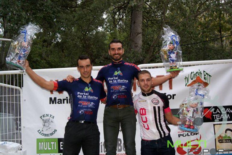 Juanjo Femenía y Dani Cepa en el podio